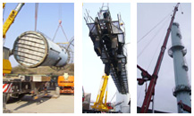 Piping, Industrial maintenance and Equipment Transfer